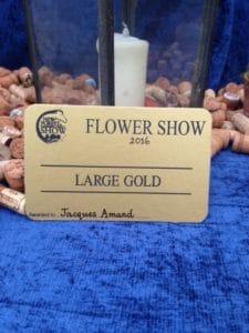 LARGE GOLD MEDAL